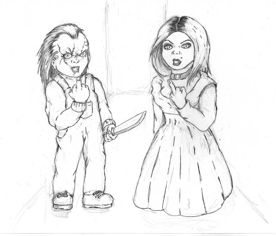 Chucky The Doll Free Coloring Pages Chucky Doll Coloring Pages