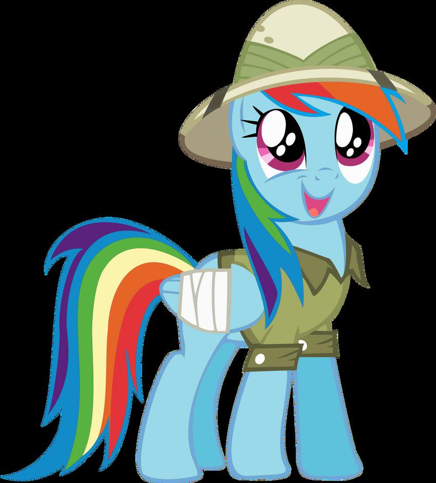 Awestruck Rainbow Dash by RDbrony16