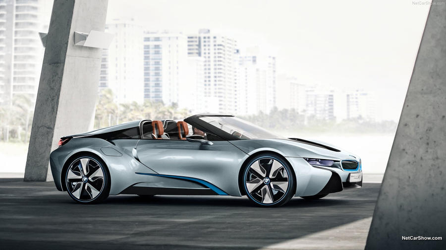 BMW i8 Spyder Concept by RDbrony16