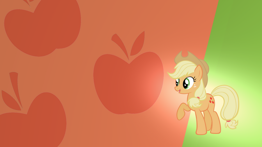 Applejack Wallpaper by RDbrony16