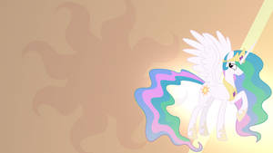 Princess Celestia Wallpaper by RDbrony16