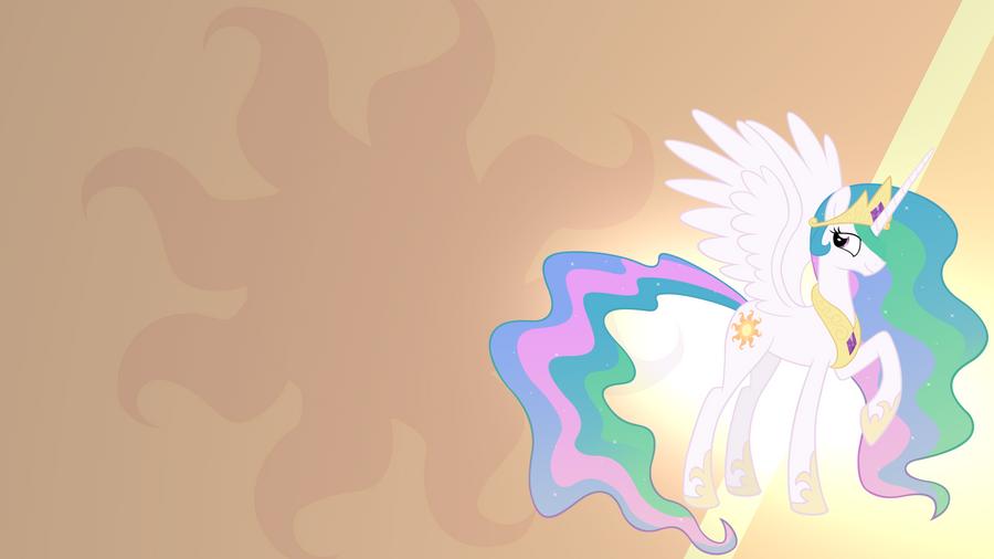 Princess Celestia Wallpaper by RDbrony16