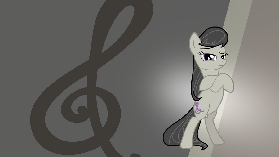 Octavia Gradient Wallpaper by RDbrony16