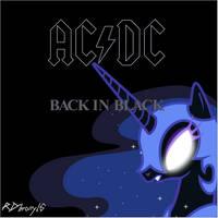 Back in Black Album Cover (RDbrony16 Edition) by RDbrony16