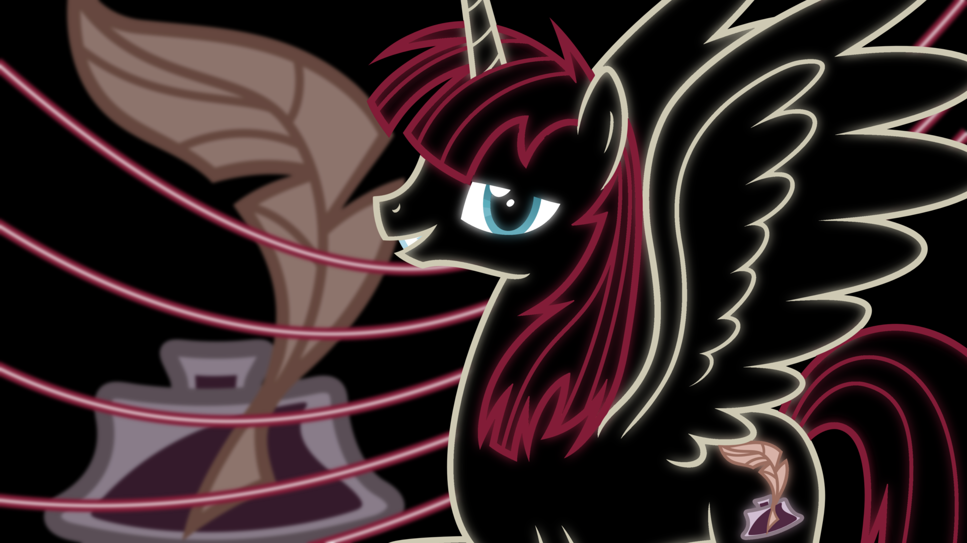Lauren Faust Neon Wallpaper by RDbrony16