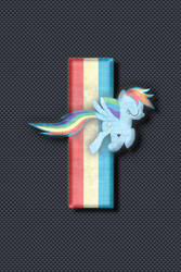 Ponified Mustang iPhone Wallpaper by RDbrony16