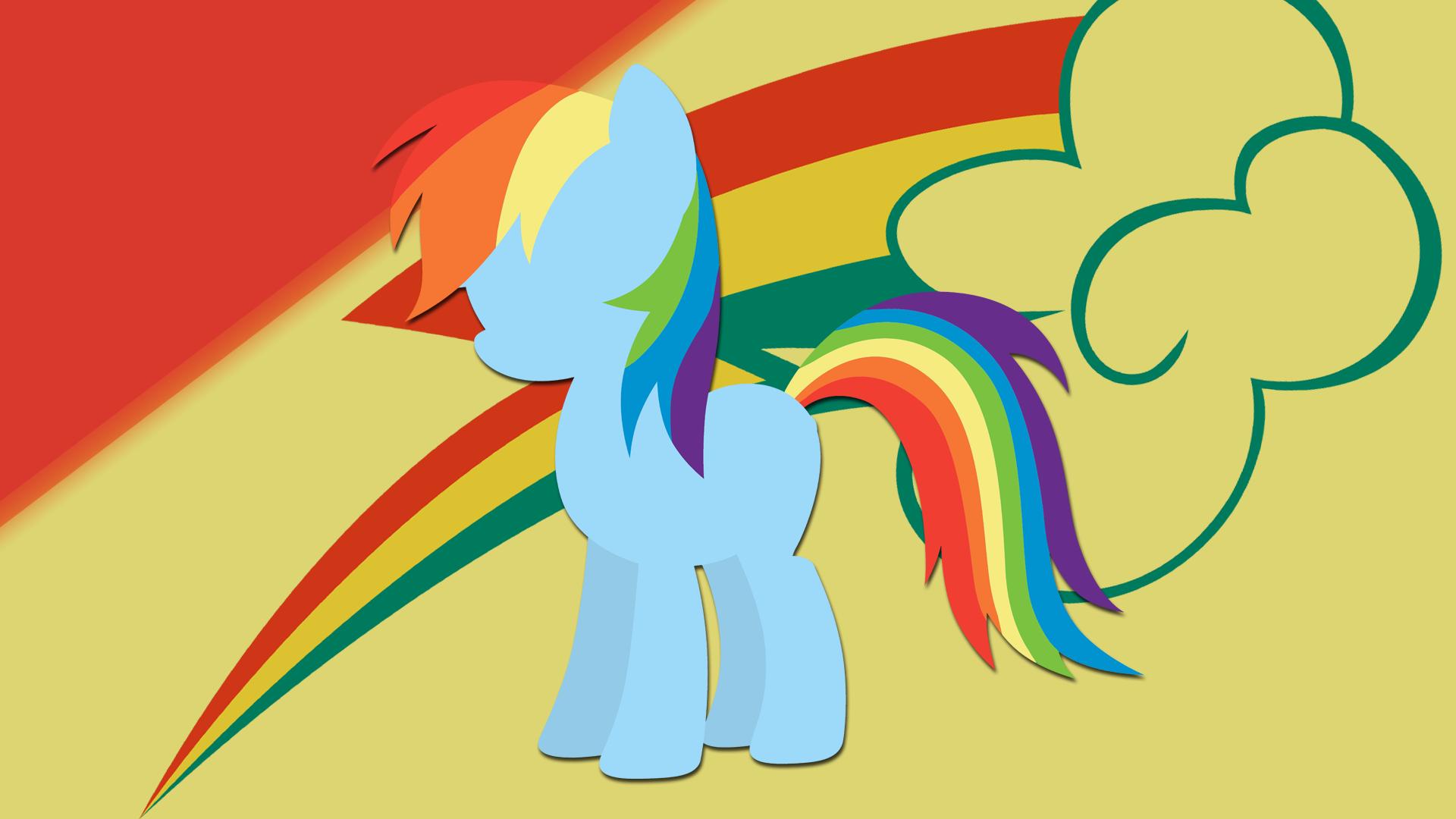 Rainbow Dash Silhouette Wallpaper By Rdbrony16 On Deviantart