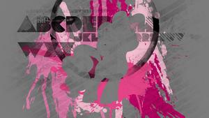 Pinkie Splatter Wallpaper