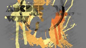 Applejack Splatter Wallpaper by RDbrony16