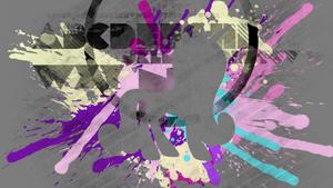 Princess Cadance Splatter Wallpaper
