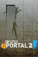 My Little Portal iPhone Wallpaper by RDbrony16