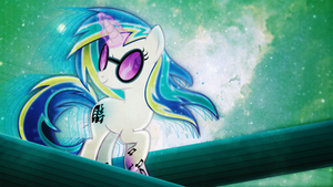 Pony in Space Wallpaper #005