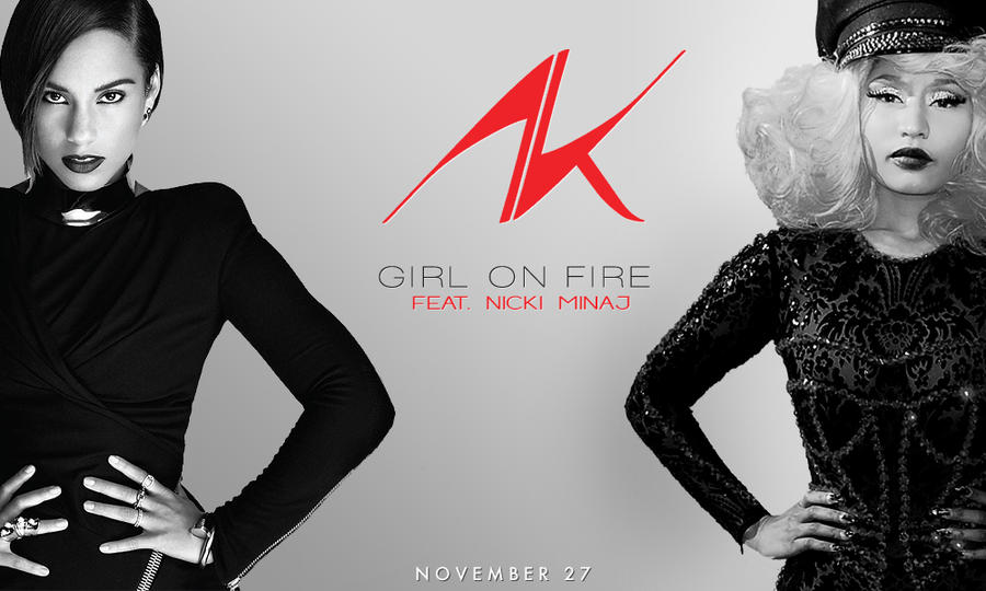 download lagu alicia keys ft nicki minaj girl on fire