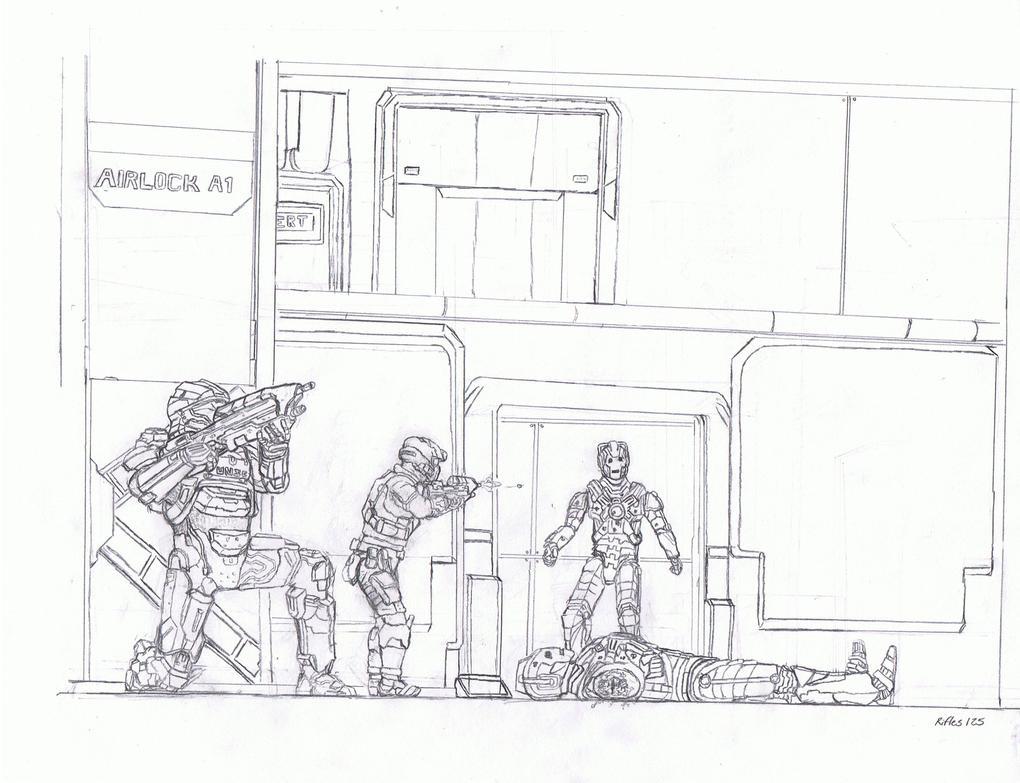 Airlock Breach....... DELETE DELETE by Rifles125