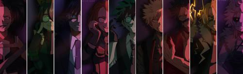 The Villains Collection BNHA by Karitachan