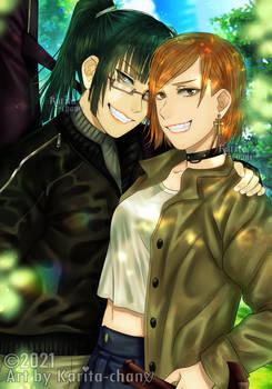JJK: Nobara and Maki