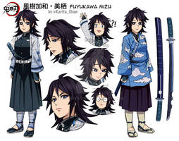KnY OC: Fuyukawa Mizu