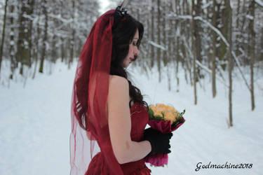 Mysterious bride by Godmachine87