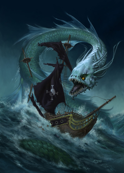 Sea Dragon by StawickiArt on deviantART