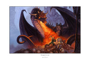 Dragons Lair by StawickiArt