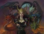 Takisis from Dragonlance