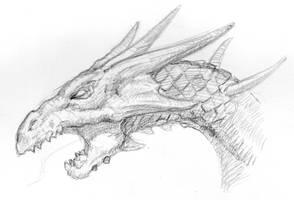 Dragon Sketch #01