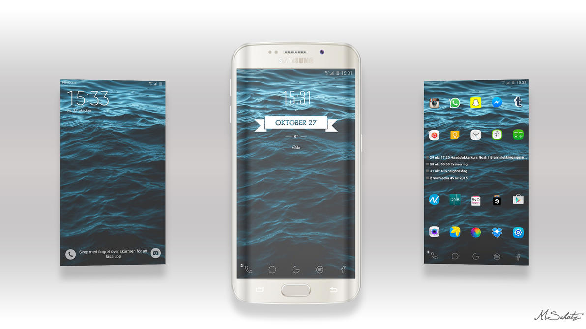 Galaxy s6 edge plus by schat2
