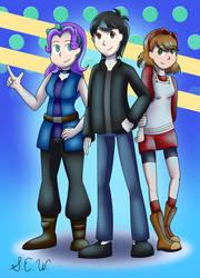 DBG Stardust Trio (Comm)