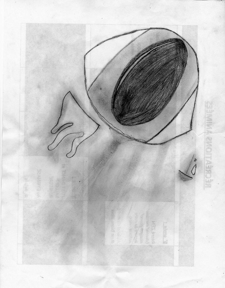 Sad eye by HannahJem