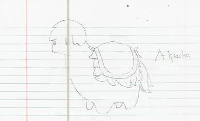Packa Sketch by ZeroGravityZone