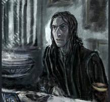 Dumbledore by Vizen