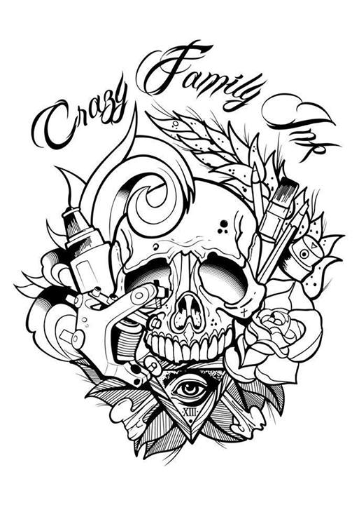 Crazy family tattoo shop by tattoo colmar conv on deviantart for Tribal family tattoo