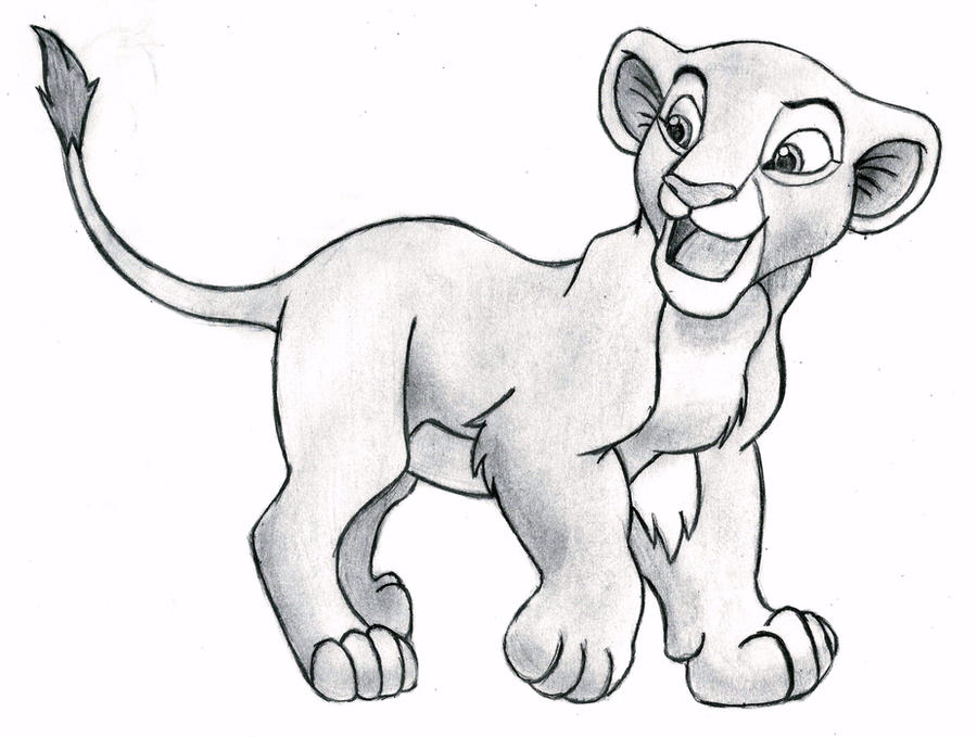 Lion King 2 Drawings