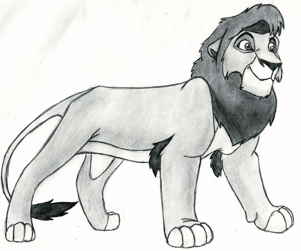 Uncategorized Drawing Lion King the lion king kovu by 09dianime on deviantart 09dianime