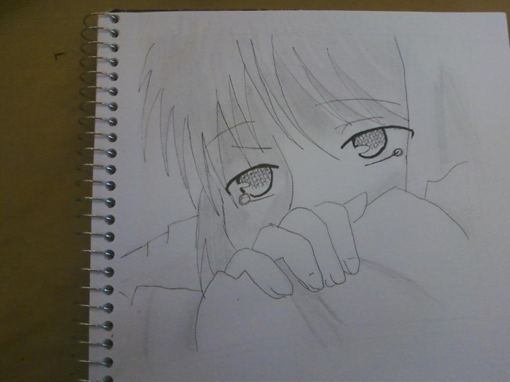Sad Girl Drawing Tumblr Drawing Pencil Art