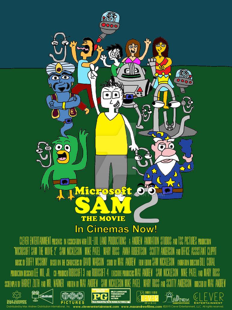microsoft sam the movie 2 movie poster 3 by maxiandrew on deviantart