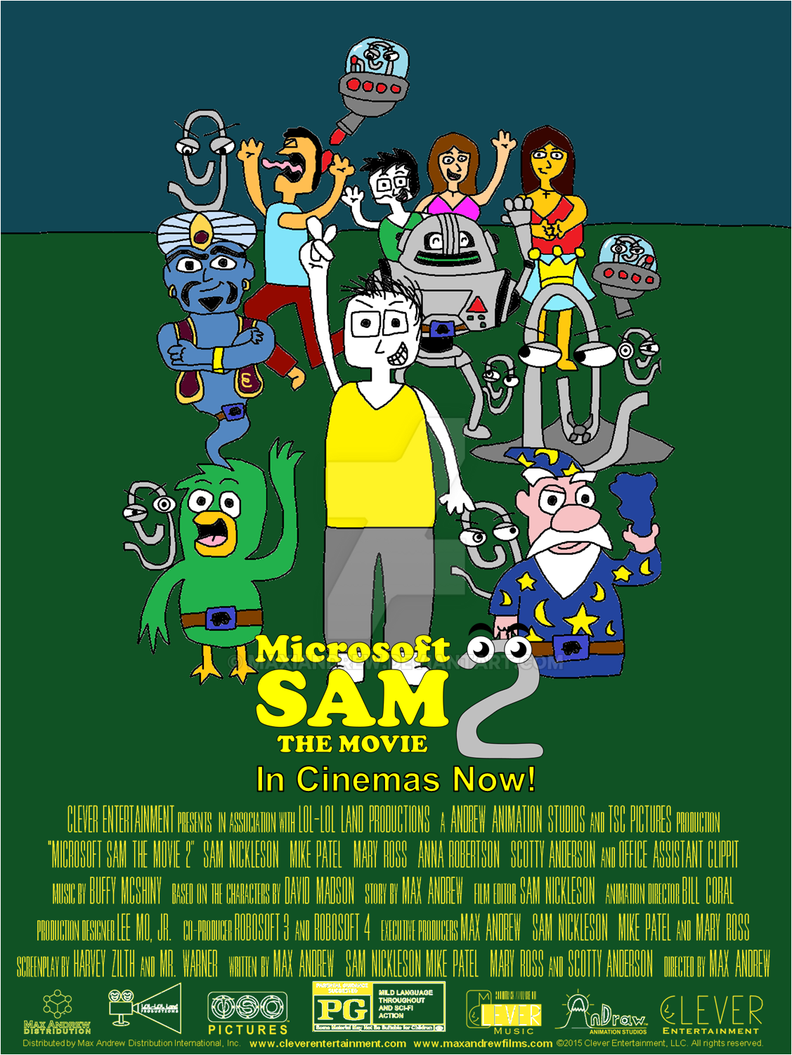 microsoft sam the movie 2 movie poster 3 by maxiandrew on deviantart