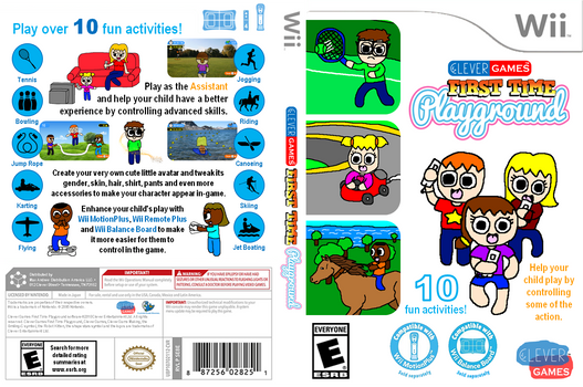 CG First Time Playground Wii US Cover Art