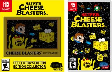 SCB Collector's Edition + Game Switch Cover