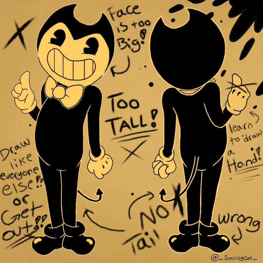 bendy and the ink machine base