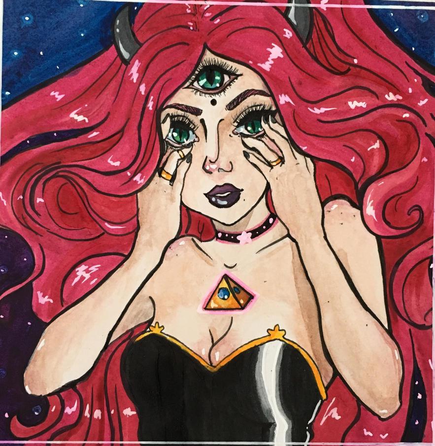 CD girl by SybilArt