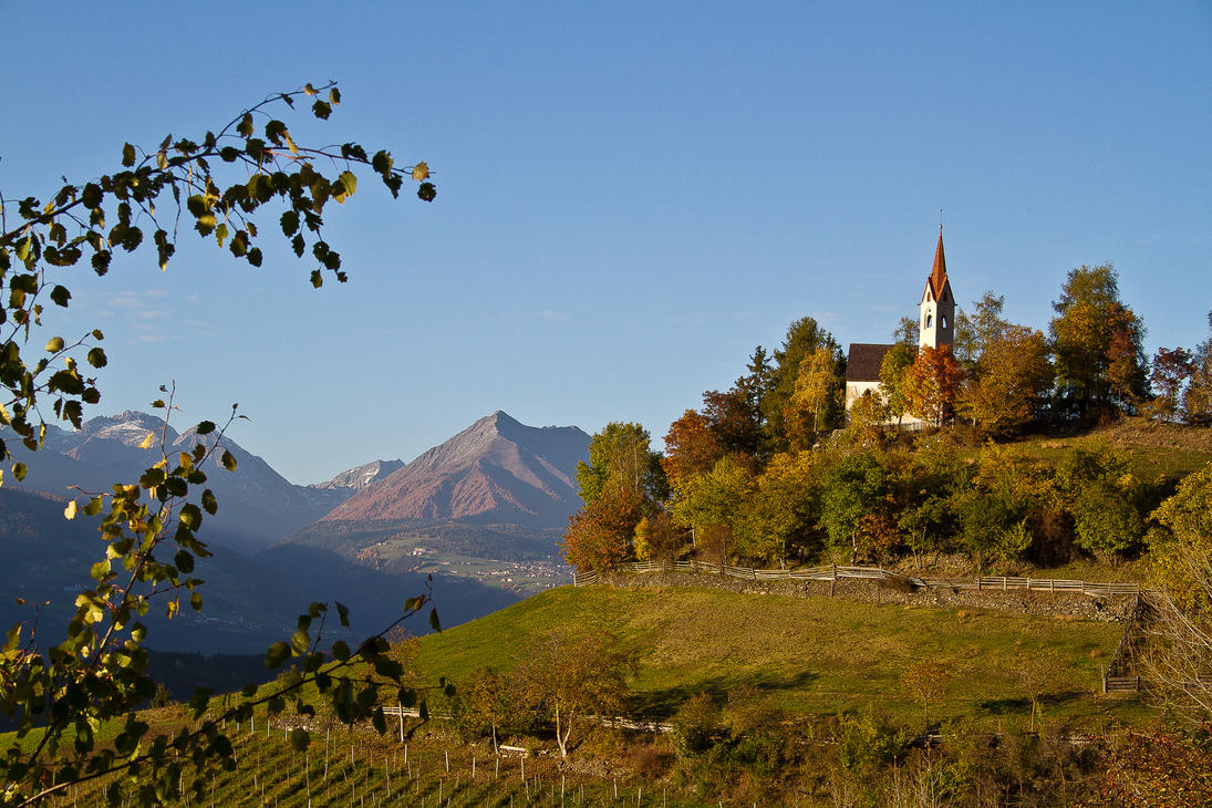The church on the hill by jorago