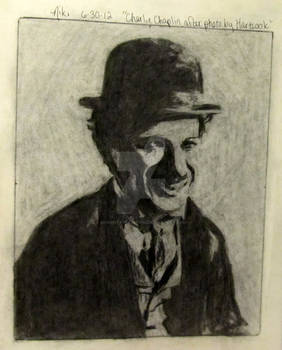 Charlie Chaplain After Photo by Hartsook