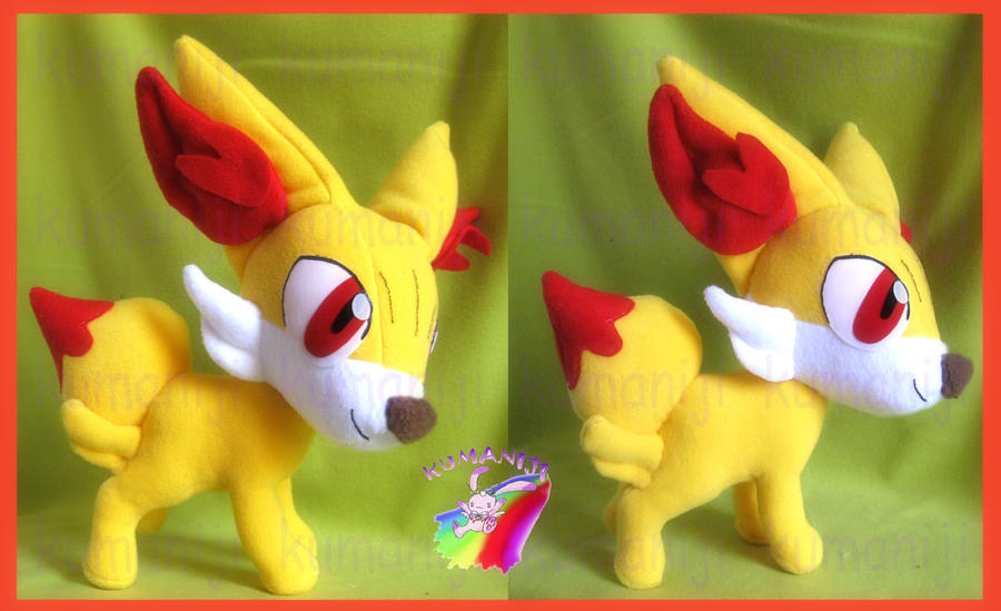 FENNEKIN POKEMON X Y PLUSH by chocoloverx3