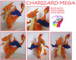 MEGA CHARIZARD PLUSH