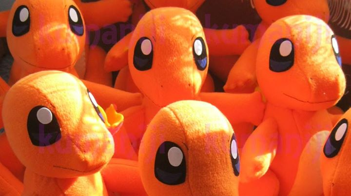 work on charmander plushies by chocoloverx3