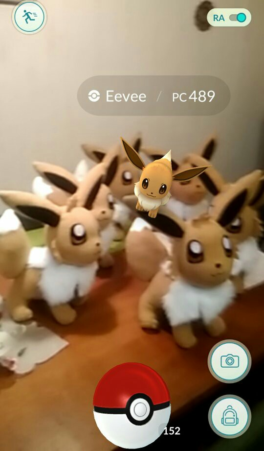 Eevee on eevee xD by chocoloverx3
