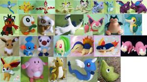 pokemon plushies availables