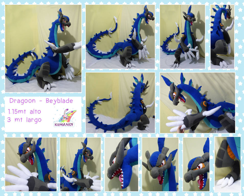 Dragoon Beyblade Giant Plushie By Chocoloverx3 On Deviantart