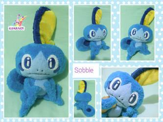 Sobble pokemon plushie by chocoloverx3